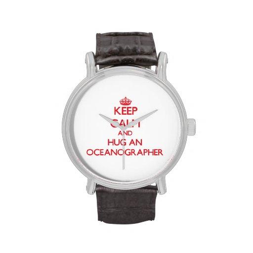 Keep Calm and Hug an Oceanographer Watches