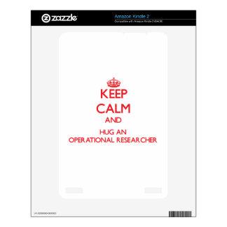 Keep Calm and Hug an Operational Researcher Kindle Decal