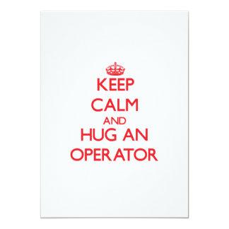 Keep Calm and Hug an Operator Cards