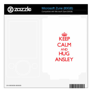 Keep Calm and Hug Ansley Skins For The Zune