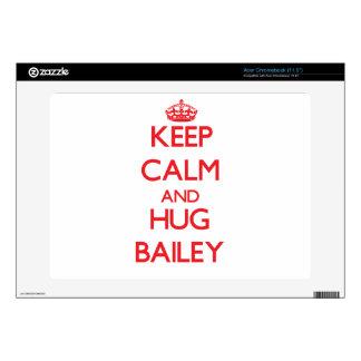 Keep calm and Hug Bailey Acer Chromebook Skins