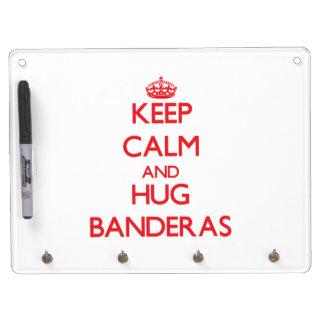 Keep calm and Hug Banderas Dry-Erase Whiteboard