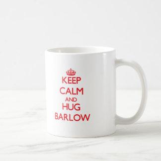 Keep calm and Hug Barlow Classic White Coffee Mug