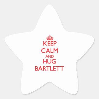 Keep calm and Hug Bartlett Star Sticker
