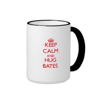 Keep calm and Hug Bates Coffee Mug