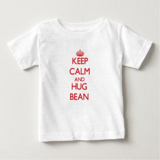 Keep calm and Hug Bean Baby T-Shirt