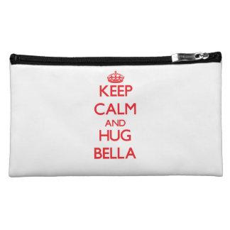 Keep Calm and Hug Bella Makeup Bag