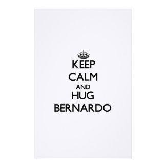 Keep Calm and Hug Bernardo Stationery Design