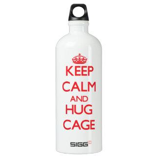 Keep calm and Hug Cage SIGG Traveler 1.0L Water Bottle