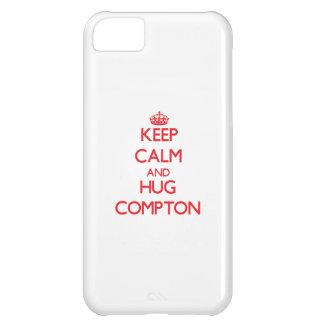 Keep calm and Hug Compton iPhone 5C Covers