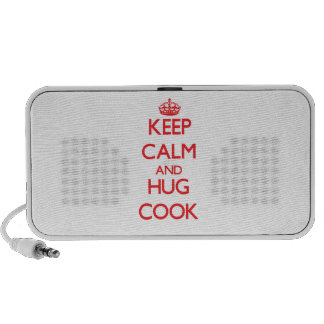 Keep calm and Hug Cook Speaker System