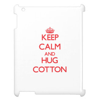 Keep calm and Hug Cotton Case For The iPad 2 3 4