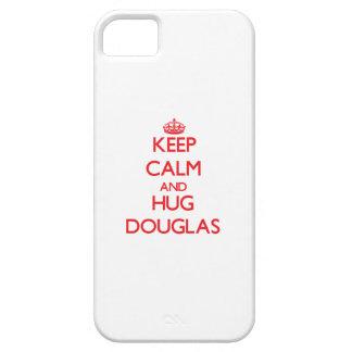 Keep calm and Hug Douglas iPhone 5 Cases
