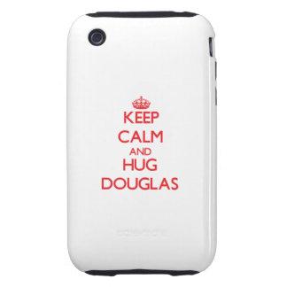 Keep calm and Hug Douglas Tough iPhone 3 Covers