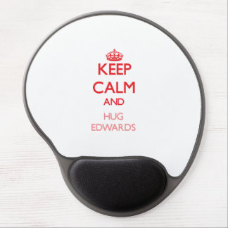 Keep calm and Hug Edwards Gel Mouse Pad