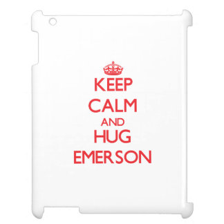 Keep calm and Hug Emerson Case For The iPad 2 3 4
