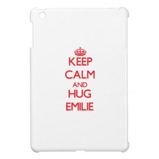 Keep Calm and Hug Emilie iPad Mini Cases