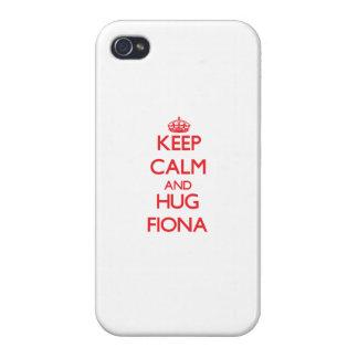 Keep Calm and Hug Fiona Case For iPhone 4