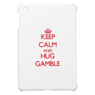 Keep calm and Hug Gamble Case For The iPad Mini