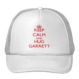Keep calm and Hug Garrett Trucker Hat