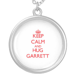 Keep calm and Hug Garrett Pendants