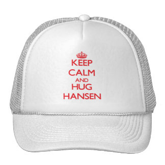 Keep calm and Hug Hansen Mesh Hats