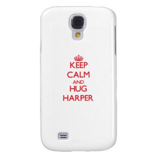 Keep calm and Hug Harper Samsung Galaxy S4 Case