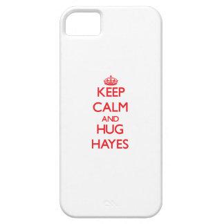 Keep calm and Hug Hayes iPhone 5/5S Covers