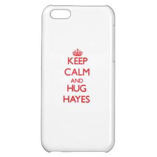 Keep calm and Hug Hayes iPhone 5C Cover
