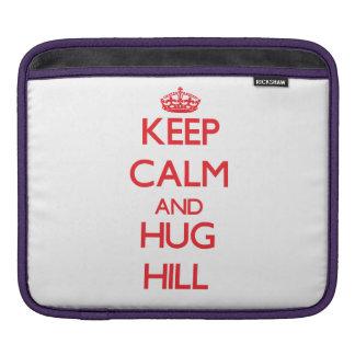 Keep calm and Hug Hill Sleeves For iPads