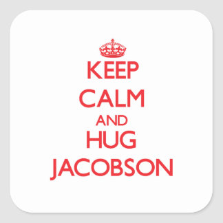 Keep calm and Hug Jacobson Stickers