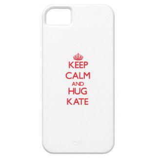 Keep Calm and Hug Kate iPhone 5 Cover