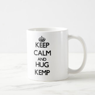 Keep calm and Hug Kemp Mugs