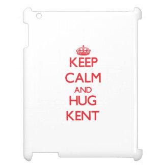 Keep calm and Hug Kent Case For The iPad