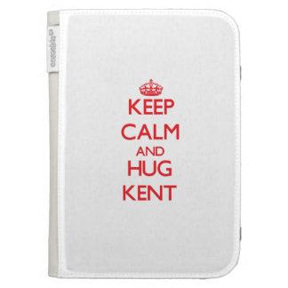 Keep calm and Hug Kent Kindle 3G Covers