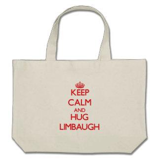 Keep calm and Hug Limbaugh Tote Bag