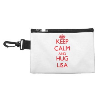 Keep Calm and Hug Lisa Accessories Bags