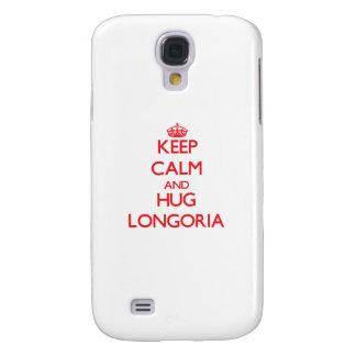 Keep calm and Hug Longoria HTC Vivid Cases