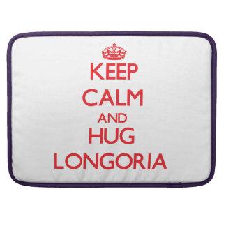 Keep calm and Hug Longoria Sleeve For MacBook Pro