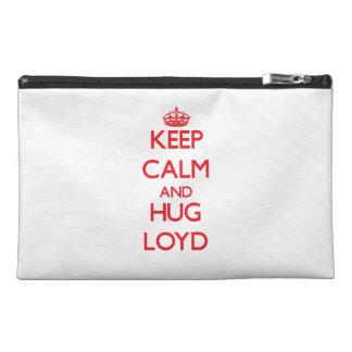 Keep Calm and HUG Loyd Travel Accessories Bag