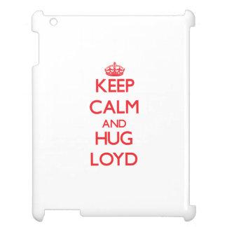 Keep Calm and HUG Loyd Case For The iPad