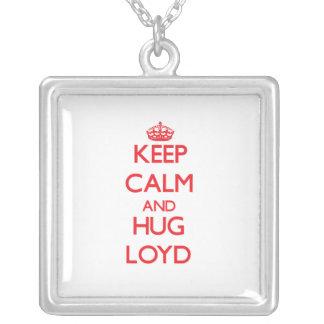 Keep Calm and HUG Loyd Custom Necklace