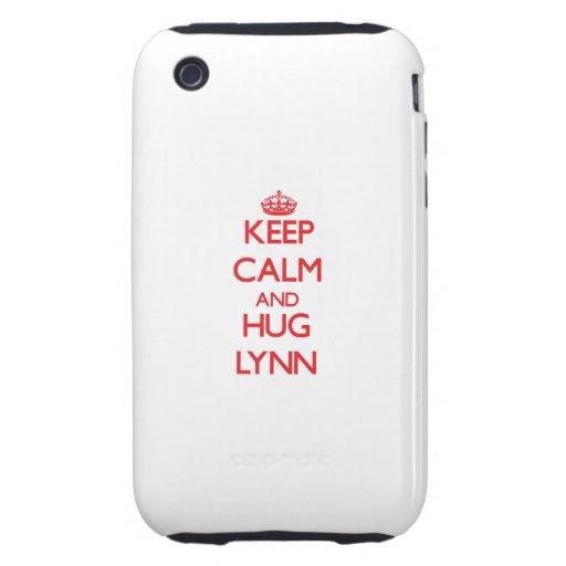 Keep calm and Hug Lynn Tough iPhone 3 Cases