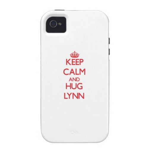 Keep calm and Hug Lynn iPhone 4 Case