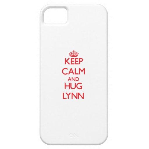 Keep calm and Hug Lynn Case For iPhone 5/5S