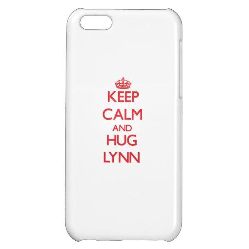 Keep calm and Hug Lynn Case For iPhone 5C