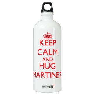 Keep calm and Hug Martinez SIGG Traveler 1.0L Water Bottle