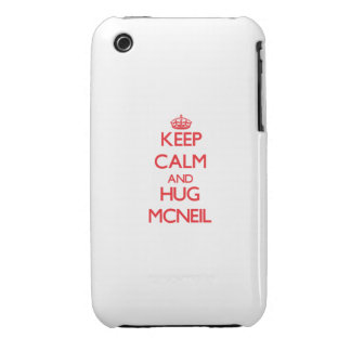 Keep calm and Hug Mcneil iPhone 3 Covers