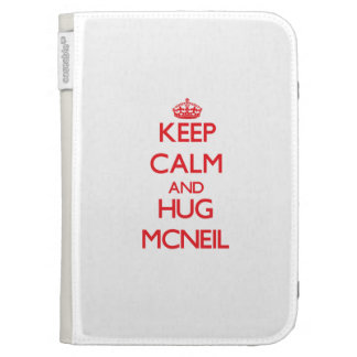 Keep calm and Hug Mcneil Kindle Covers