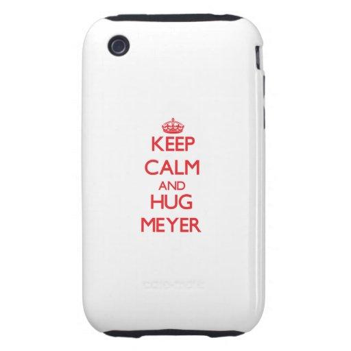 Keep calm and Hug Meyer iPhone 3 Tough Cases